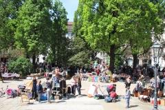 Trödeln am Martin-Luther-Platz