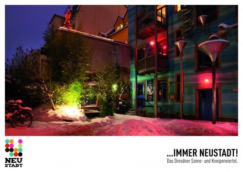 Winter in der Neustadt