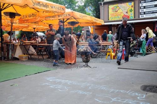 Kinderfest und Trödelmarkt in Katy's Garage