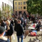 Im vergangenen Herbst war der Trödelmarkt sehr gut besucht.