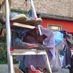 Schuh-Leiter im Louisenhof