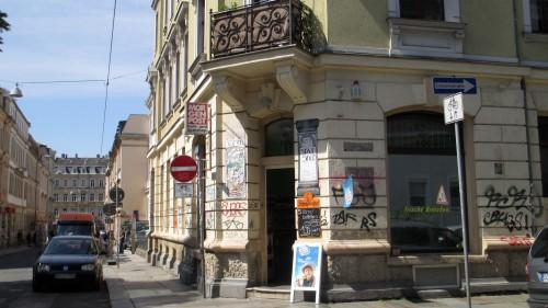 Spätshop auf der Förstereistraße