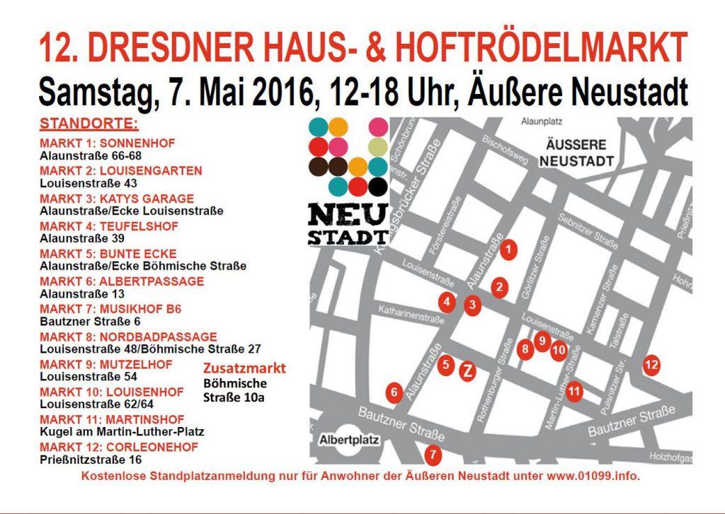 Es gibt auf der Böhmischen Straße einen 13. Markt.