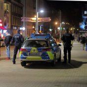 Polizeieinsatz an der Scheune