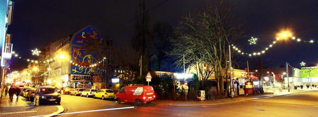 Weihnachtsbeleuchtung in der Neustadt - Foto: Youssef Safwan